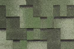 Мягкая черепица TEGOLA, Альпин , зеленый с отливом