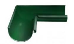 Угол желоба, внутренний, 90° , D125 RAL6005 GL