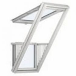 Мансардные окна Velux окно балкон