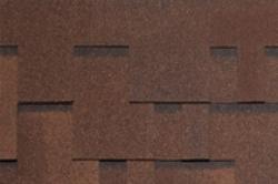 Мягкая черепица TEGOLA, Альпин , коричневый с отливом