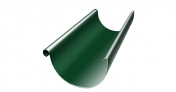 Полукруглый желоб, 3 м , D125 RAL6005 GL