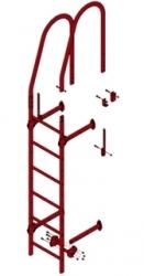 Стеновая лестница